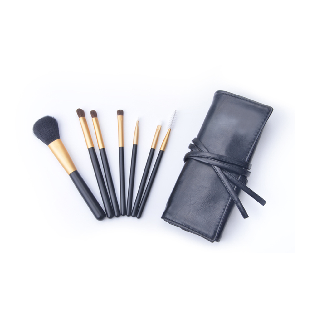 Meidao 7 pcs Custom Luxury Portable Makeup Brush Kit with Private Label
