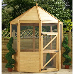 2016 large cheap wooden outdoor dog house for sale