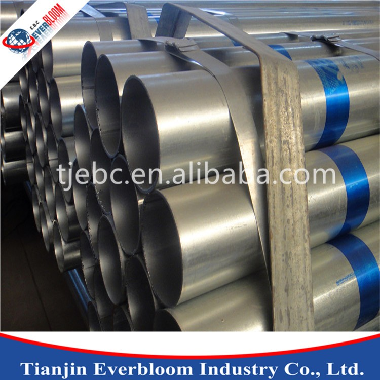 made in china manufacturing galvanized round steel pipe Q235B 20mm from alibaba China cheap price material