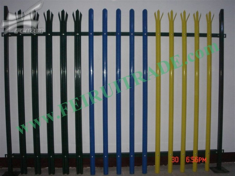 Used Palisade Galvanised Steel Gates 3.2mtr no posts