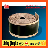 Anticorrosion heat shrink wrap tape for underground pipeline