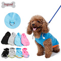 Fall Winter Dog Hoodie Harness Fleece Vest Hoody D-Ring