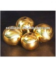 80mm drilled 99.5% copper sphere