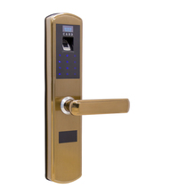 Advanced intelligent fingerprint/key card digital door lock