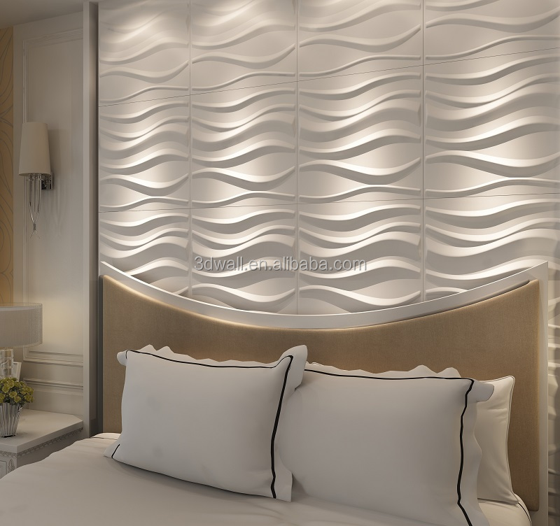pvc interior decorative 3d wall covering panels tv backgroud beautiful wallpapers
