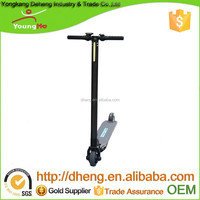 300W power 10.4Ah Battery Folding Electric Scooter with Carbon Fiber material