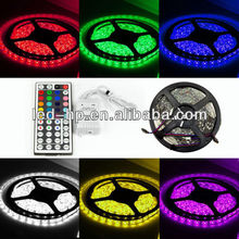 Hot Big 5M 5050 RGB SMD Waterproof Flexible Strip Light 300 LED Flash 12V IP65