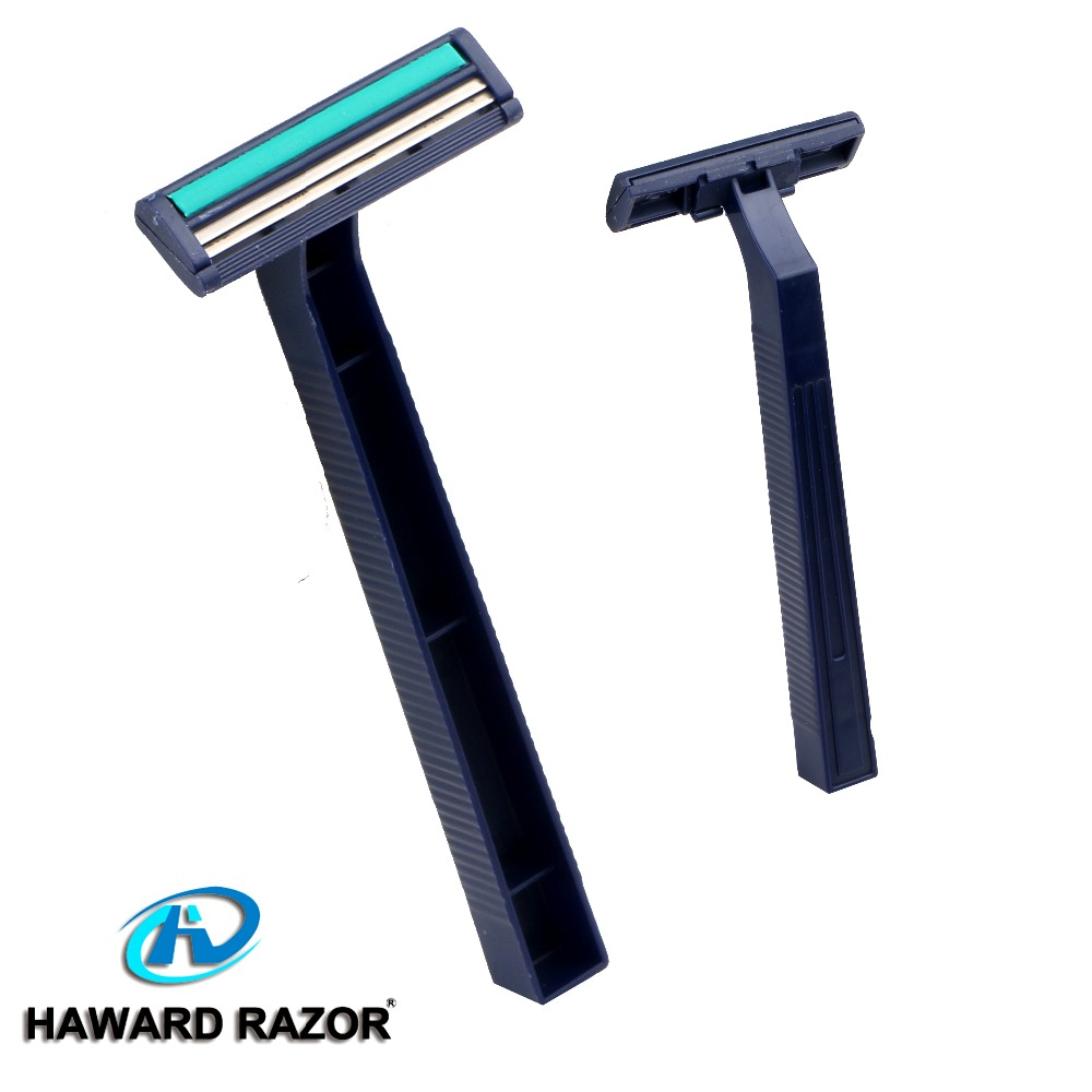 D210L bulk twin blade shaving device with lube strip