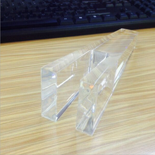 Customized Clear Plexiglass Acrylic Table Leg Furniture