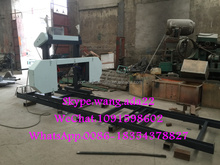 Sawmill Wood Portable Band Saw Mill Timber Band Saw Machine
