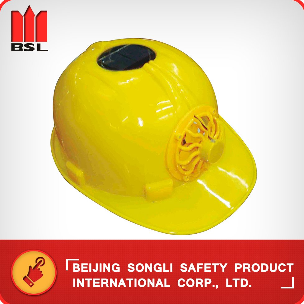 SLH-TYN Chinese Solar powered safety Helmet with fan helmet