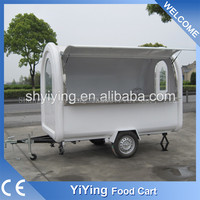 Newly Yiying YY-FR280B High Quality New Design food van for sale