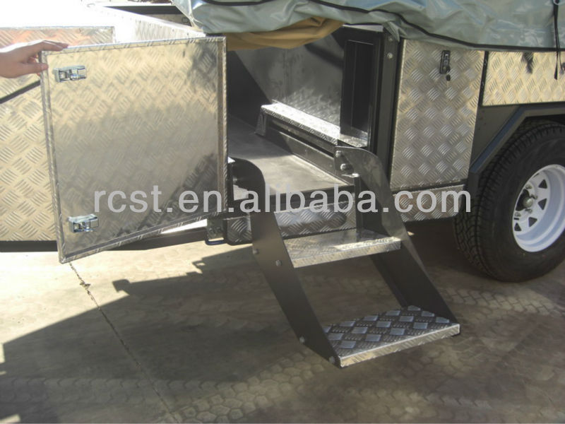 soft floor large travel trailers