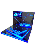 LED stand,LED cellphone display rack, LED acrylic display rack with base
