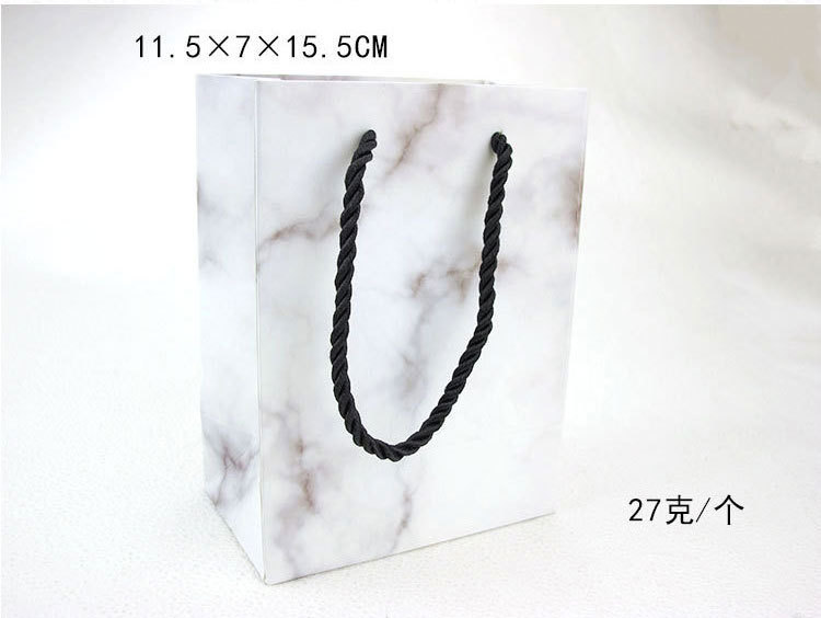 Custom logo marble pattern high-grade jewelry paper box marble jewelry box set jewelry packaging box