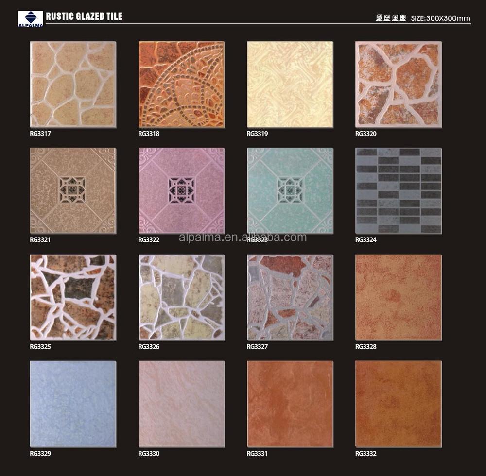 Top quality rustic porcelain tiles design 30x30 floor tile