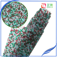 Hotfix bottom Random sort resin drill mixed color Transparent jelly color 3mm resin rhinestone sheet garment decorative banding