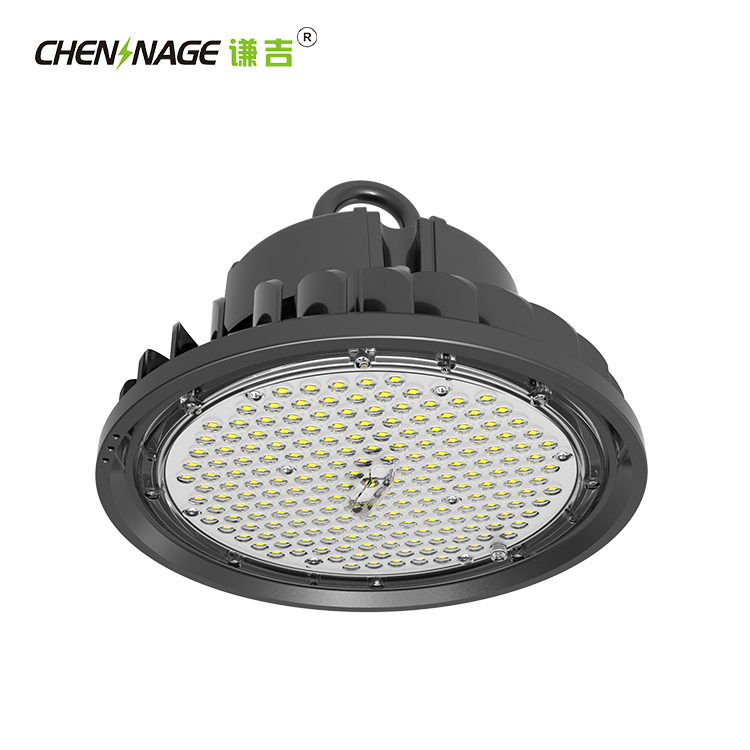 Energy Saving Industrial CE RoHS IP65 Waterproof 200W UFO Led High Bay Light For Workshop Lighting