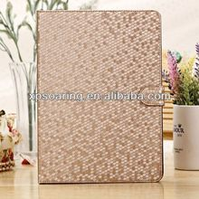 For ipad 5 Stand leather case pouch for ipad air leather case