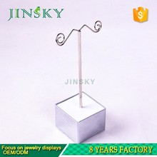 jewelry suede earring display stand