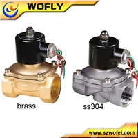 one-way one inlet one outlet 1/2 inch water 24 volt solenoid valve