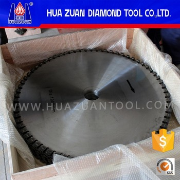 single diamond granite blade