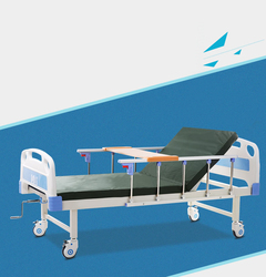 Cofoe High Quality Household Medical Single-shake Nursing Bed With Truckles