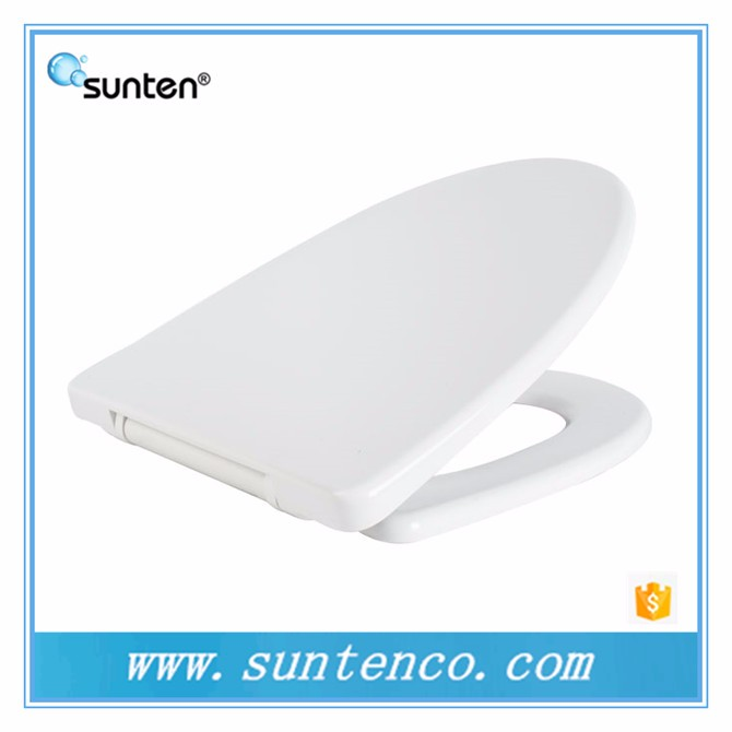 Sanitary Ware Duroplast Quick Release V Shape Toilet Seat Covers