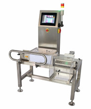 High quality check weigher machine with ejector system