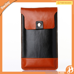 New design universal PU leather phone case mobile phone bag