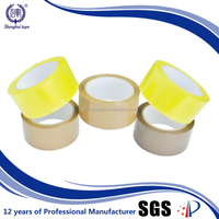 brown bopp packing tape/brown transparent bopp tapes,with company logo for carton sealing BOPP packing tape
