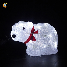 20L Polar Bear Christmasled Acrylic Outdoor Christmas Decorations New Product
