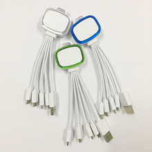 Multi Usb Charger, 4 in 1 Multiple USB Charging Cable for I5/I6/Android