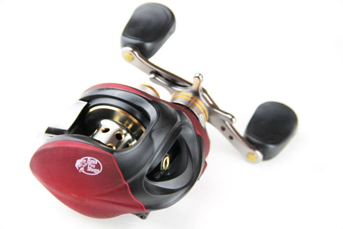 Wholesale bass pro baitcasting reel red 6 3 1 fishing reel for Bass pro fishing reels