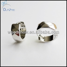 Fashion hoop huggies earrings for boy