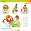[JK TOYS] Premium quality fisher baby toys 4 in 1 walker and dinner table