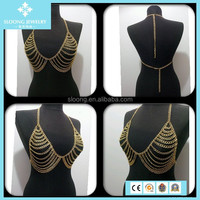 Wholesale Sale Funky 14k Gold Plated Chain