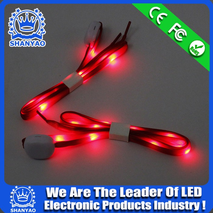 Christmas Gift New Year Led Shoeslace for outdoor sports