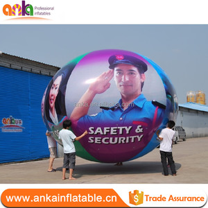 Inflatable Giant Printed Floating Balloons Sphere for sale promotion