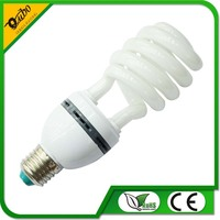 half spiral 23w energy saving lamp ,economic bulb