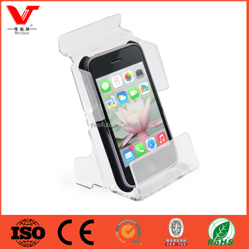 Acrylic Cell Phone Display and Slatwall Hook for Slatwall