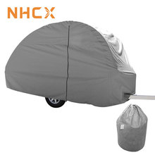 Weather Protection waterproof roof RV Caravan Cover Small Trailer Caravan Cover