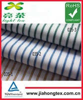 changzhou mill made cotton dobby stripe woven textile fabric
