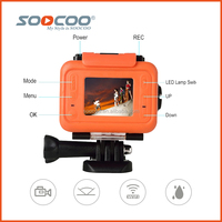 SOOCOO S70 Outdoor Sports Camera 2K 30fps Wifi Waterproof with 32G Memory Card and Original Battery