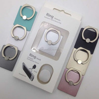 Versatile Metal Durable Rings Holder Cell Phone Stand for Big Size Smart Mobile