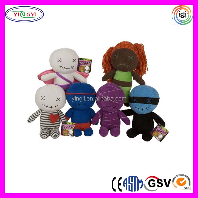 B033 Promotion Soft Voodoo Doll Stuffed Simple Plush Cheap Voodoo Doll