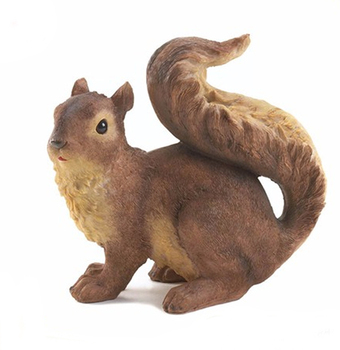 Hot Sale Resin Squirrel Garden Statue