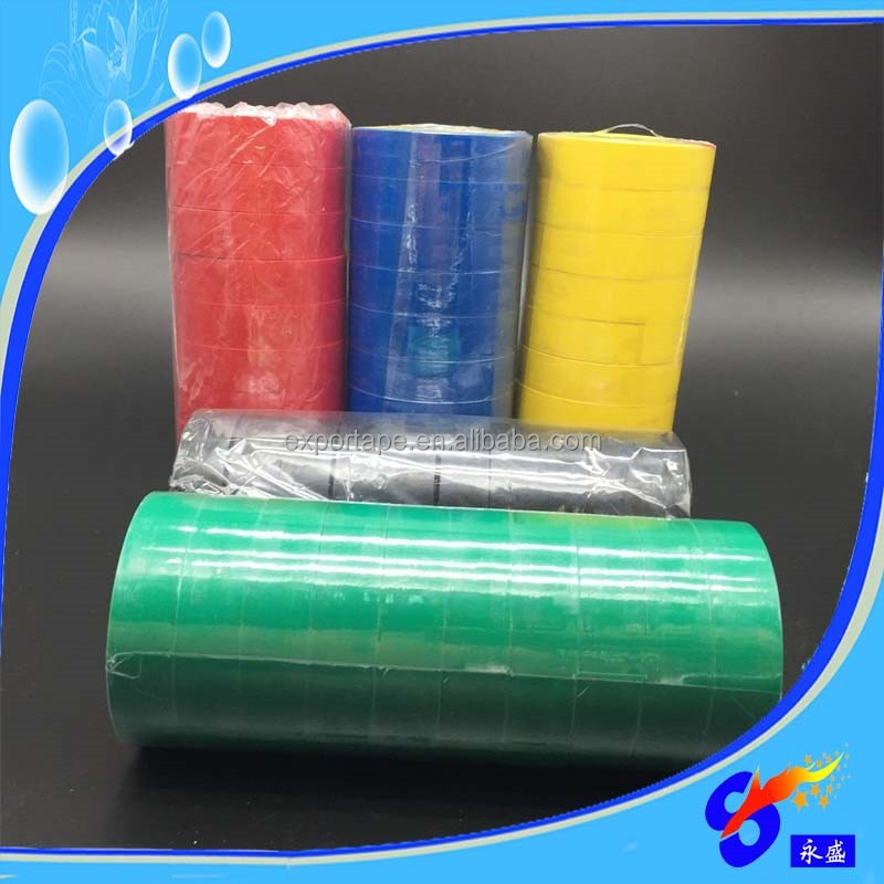 Single Side Acrylic Silicone red PVC Adhesive Tape