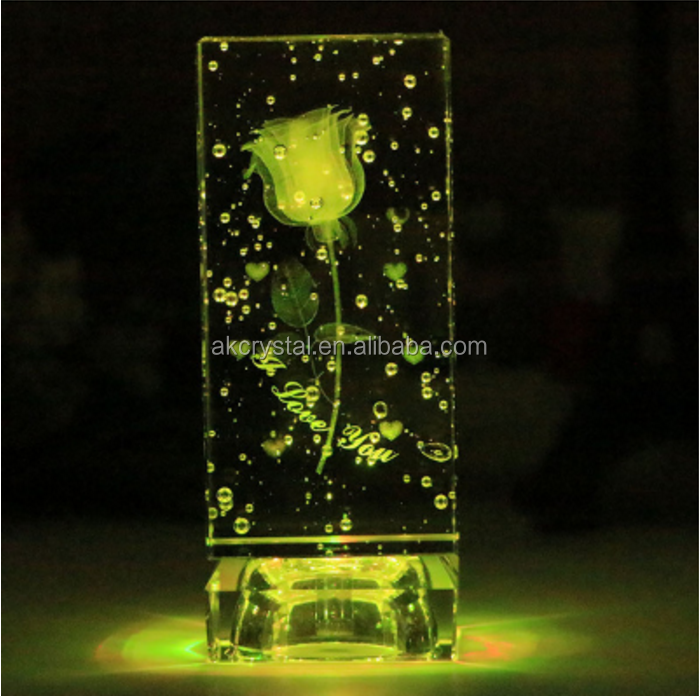 3d laser with bubble