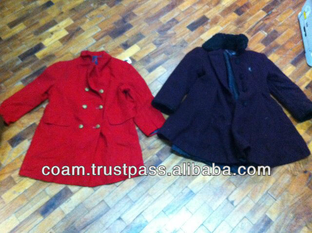 Used Clothing (Children Coats)